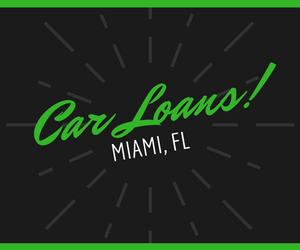 Miami Florida used car loans for 99 down